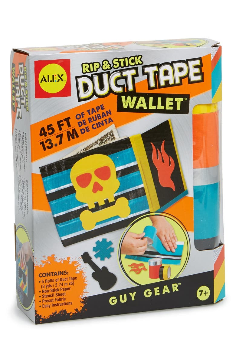 ALEX<SUP>®</SUP> TOYS Rip & Stick Duct Tape Wallet Kit, Main, color, NONE