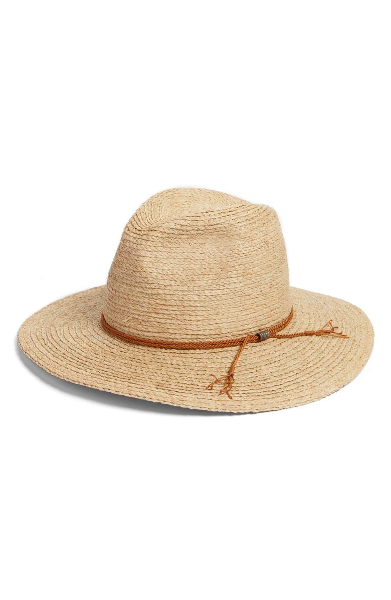 BRIXTON Sandoz Straw Hat, Main, color, 250