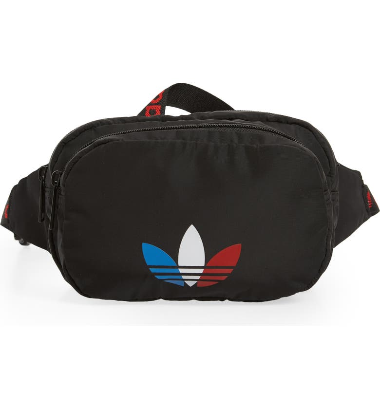 ADIDAS ORIGINALS Sport Belt Bag, Main, color, 001