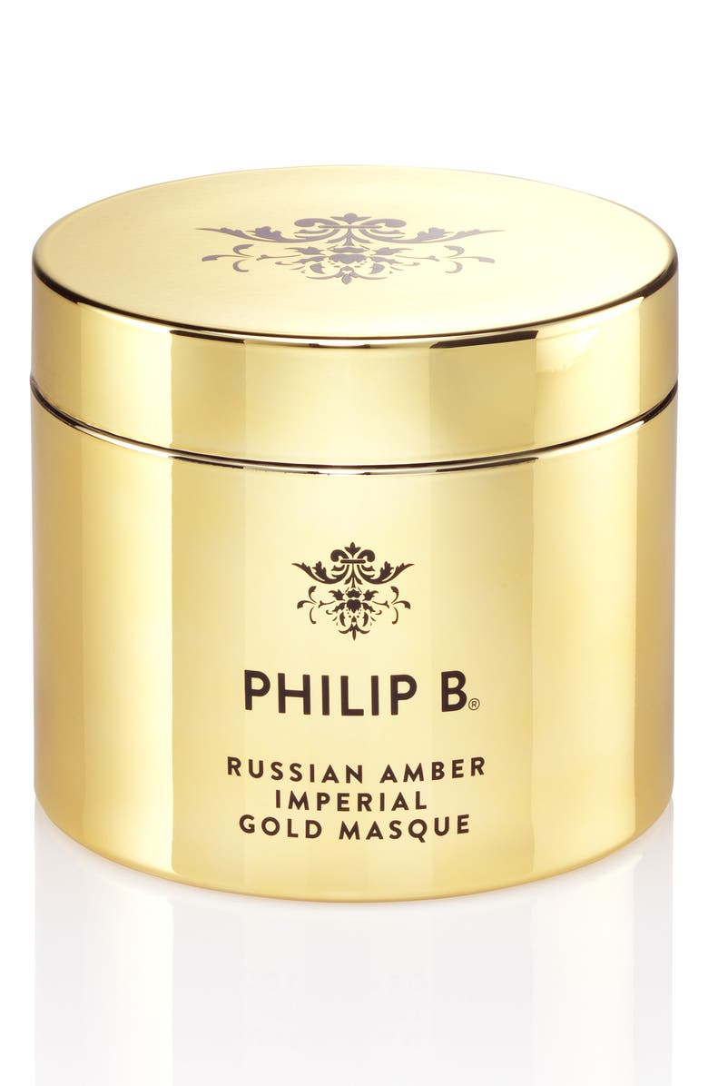 PHILIP B<SUP>®</SUP> Russian Amber Imperial Gold Masque, Main, color, NO COLOR