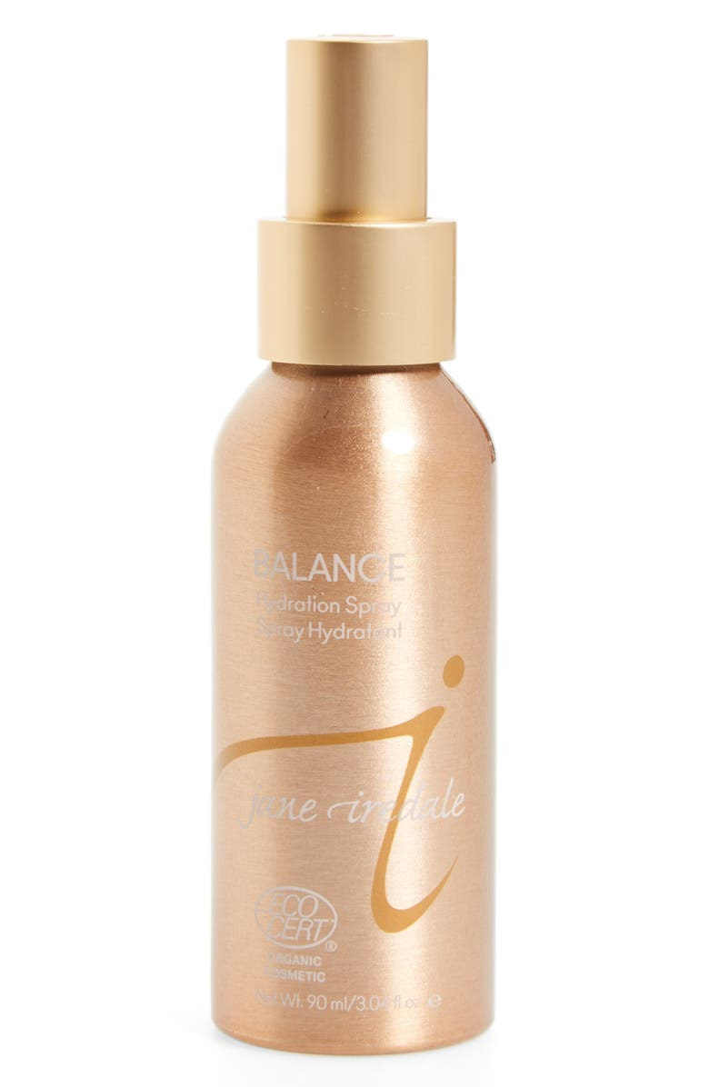 JANE IREDALE Balance Hydration Spray, Main, color, BROWN