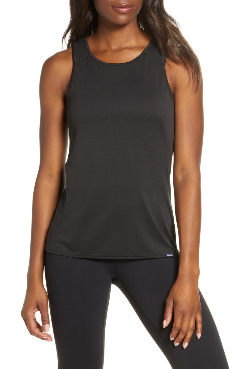 PATAGONIA Capilene<sup>®</sup> Daily Graphic Tank, Main, color, Black
