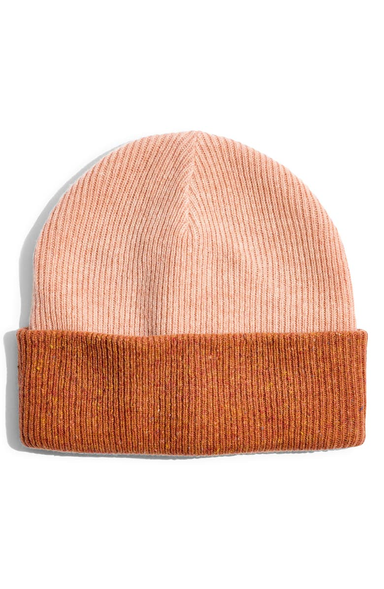 MADEWELL Reversible Cuffed Beanie, Main, color, 650