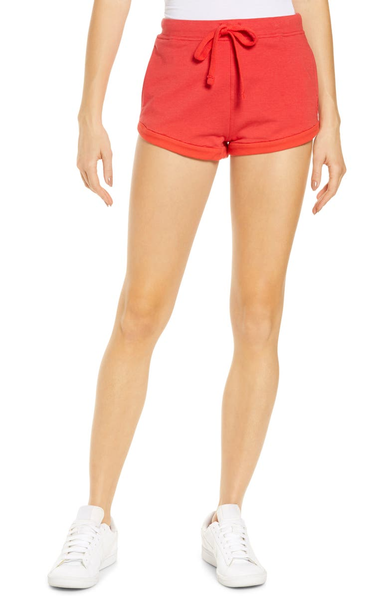 FP MOVEMENT Where the Wind Blows Shorts, Main, color, VICTORY RED