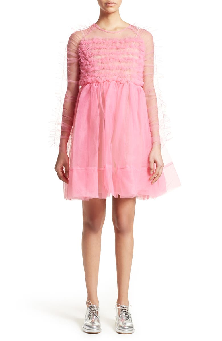 MOLLY GODDARD Funky Tulle Dress, Main, color, 650