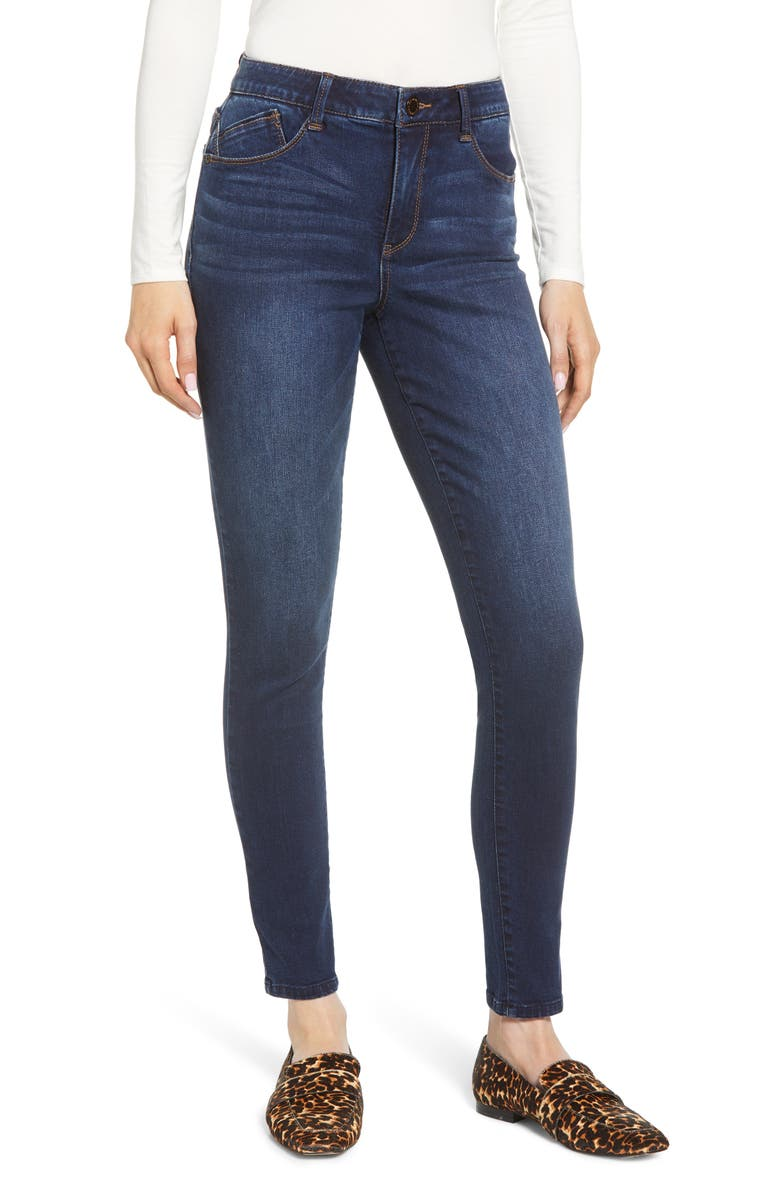 WIT & WISDOM Ab-Solution High Waist Skinny Jeans, Main, color, 402