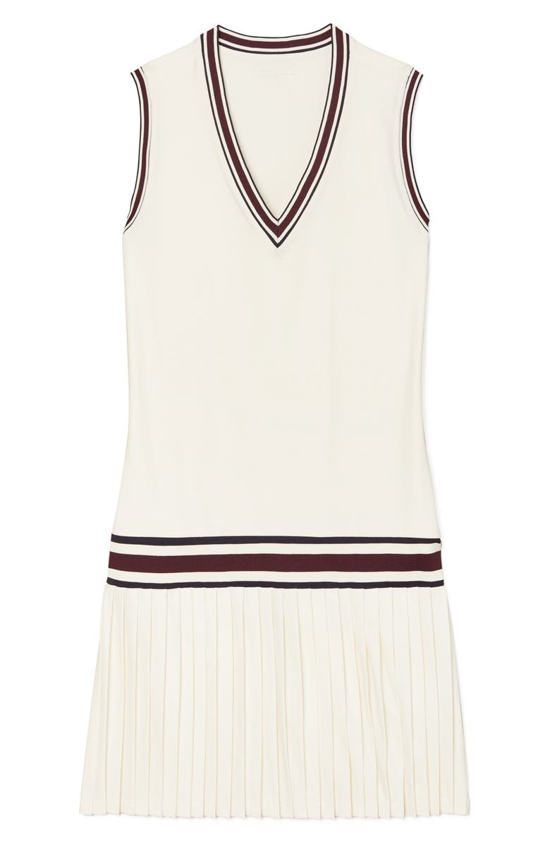 TORY SPORT BY TORY BURCH Performance Tennis Dress, Main, color, 100