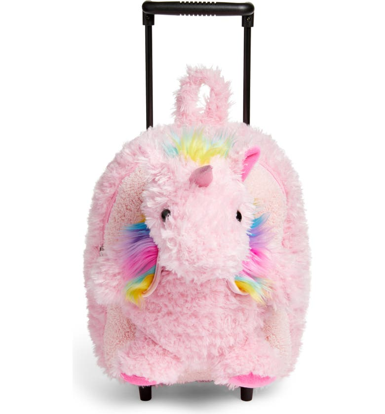 POPATU Unicorn Trolley Rolling Backpack, Main, color, 680