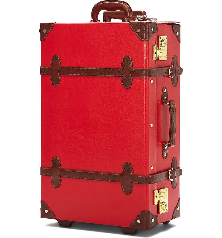 STEAMLINE LUGGAGE The Entrepreneur 23-Inch Stowaway Packing Case, Main, color, RED