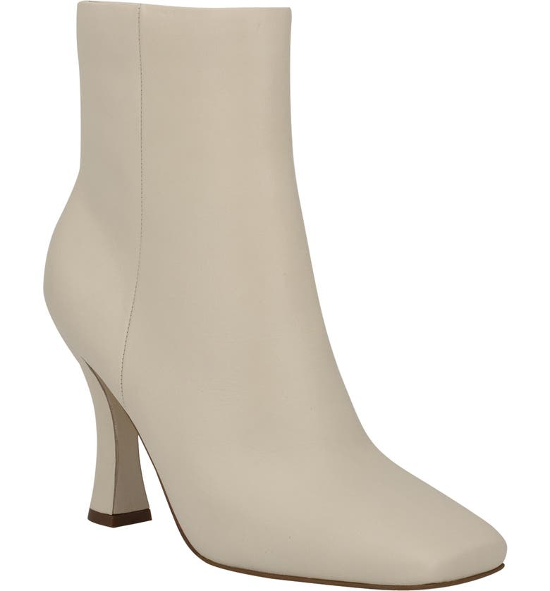 MARC FISHER LTD Cello Bootie, Main, color, IVORY LEATHER