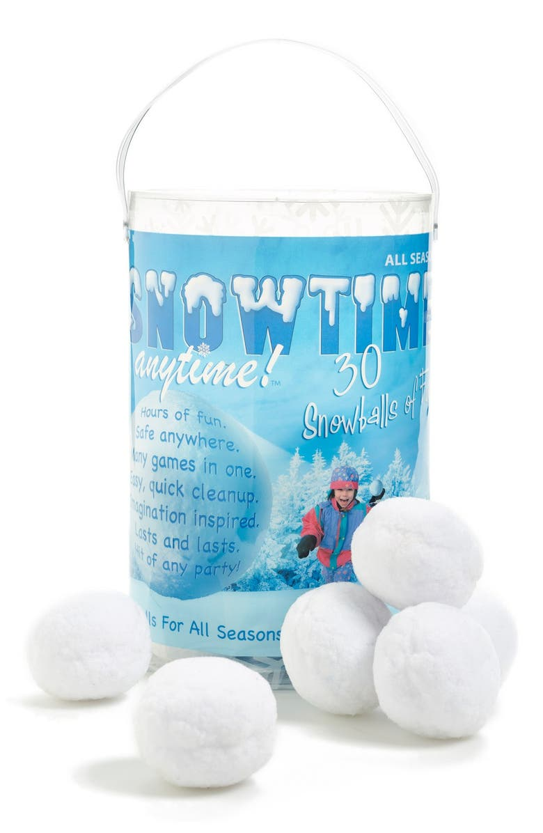 PLAY VISIONS TOYS 'Snowtime Snowballs', Main, color, 000
