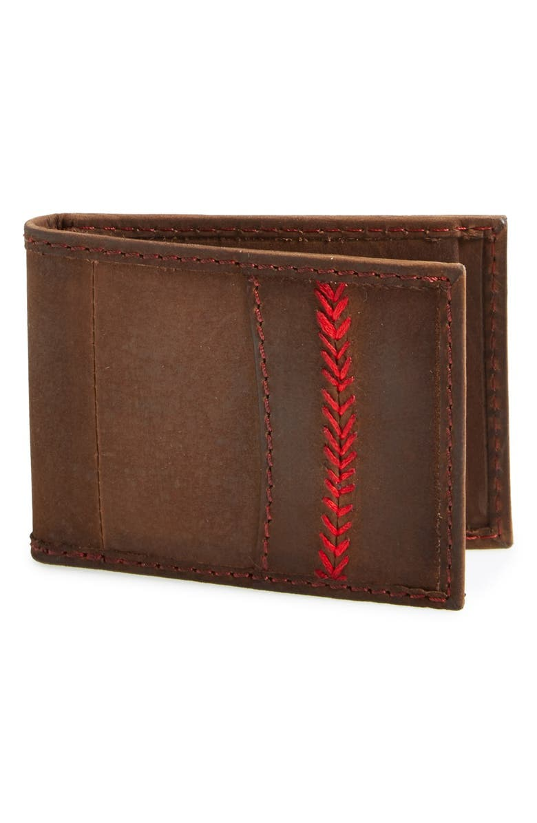 RAWLINGS <sup>®</sup> 'The Arch' Front Pocket Wallet, Main, color, 201