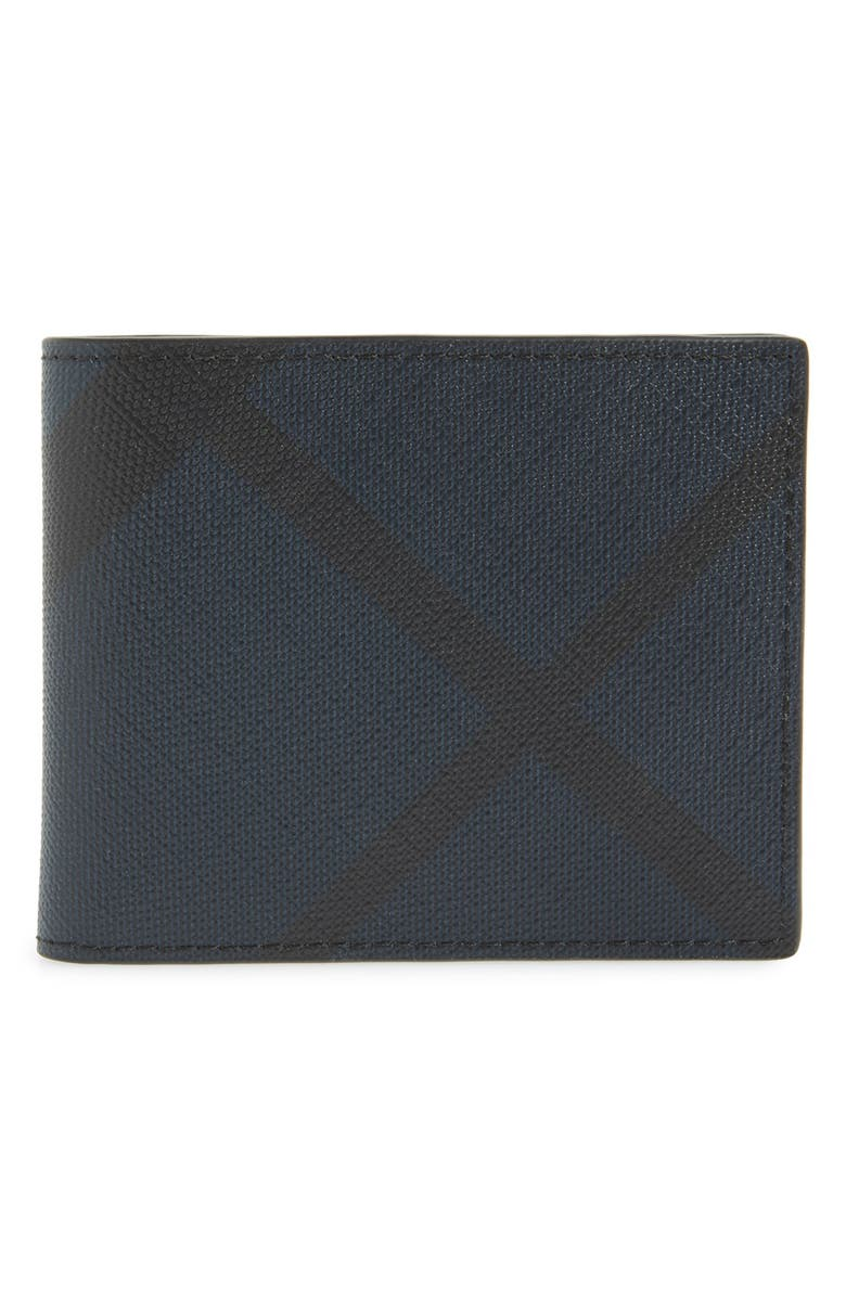 BURBERRY Check Wallet, Main, color, 410