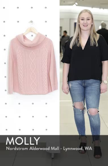 Off Shore Cable Knit Sweater, sales video thumbnail