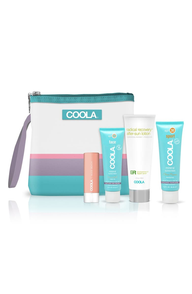 COOLA<SUP>®</SUP> Suncare Go Green Not Red! Mineral Travel Set, Main, color, 000