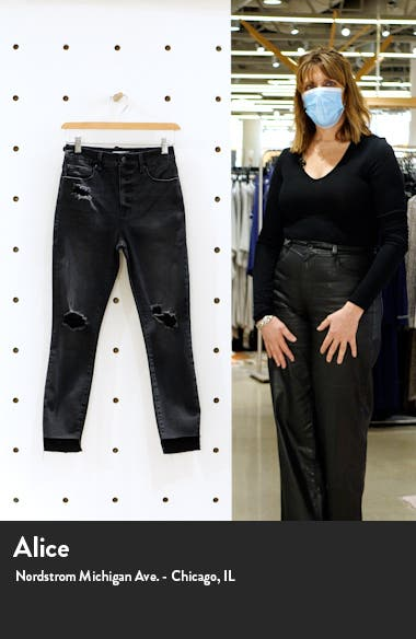 Good High Waist Crop Skinny Jeans, sales video thumbnail