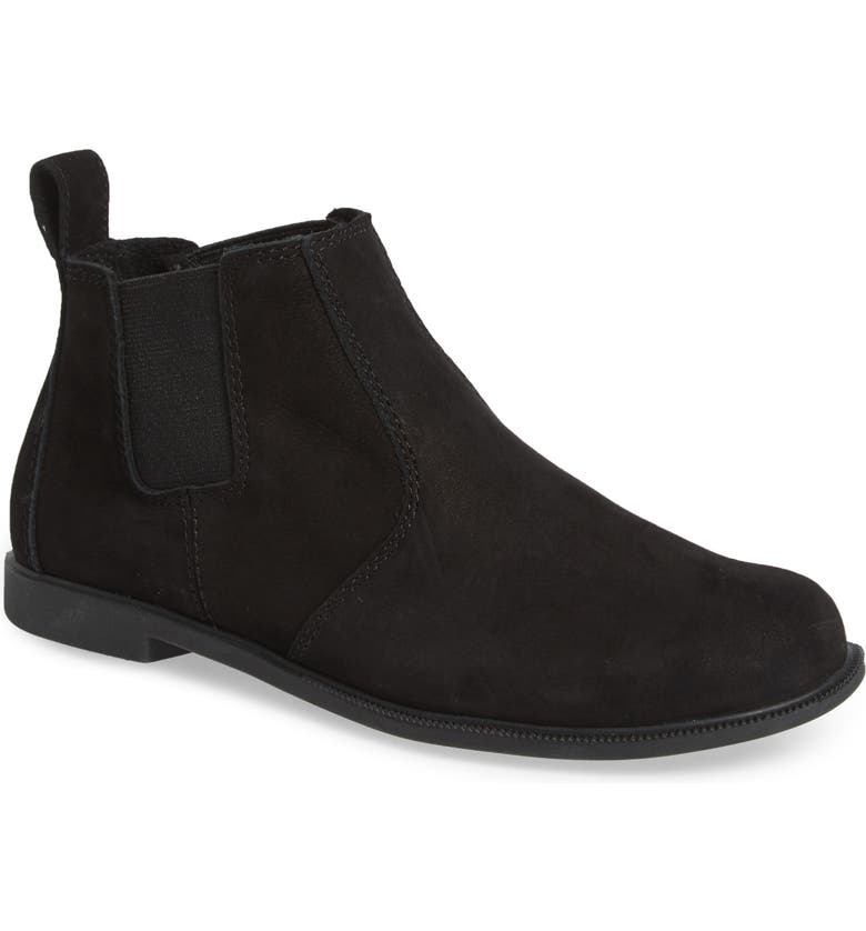 KODIAK Low Rider Chelsea Boot, Main, color, BLACK LEATHER