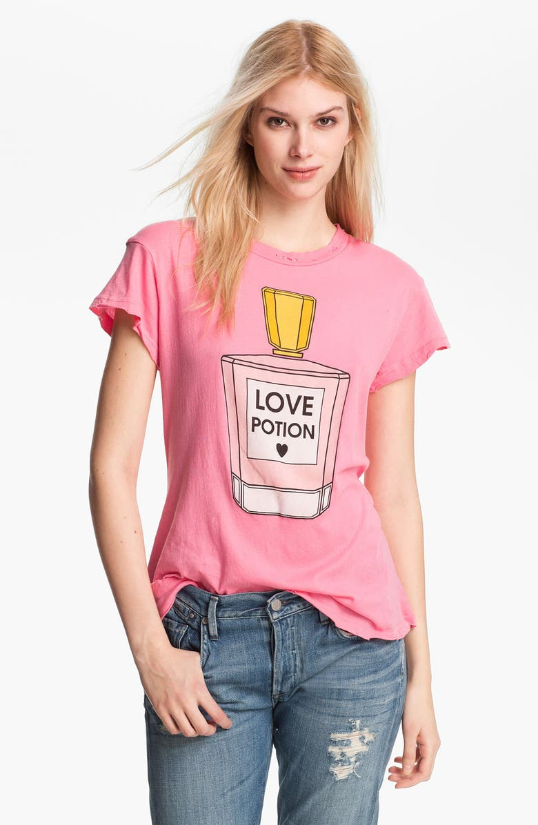 WILDFOX 'Love Potion' Graphic Tee, Main, color, 683