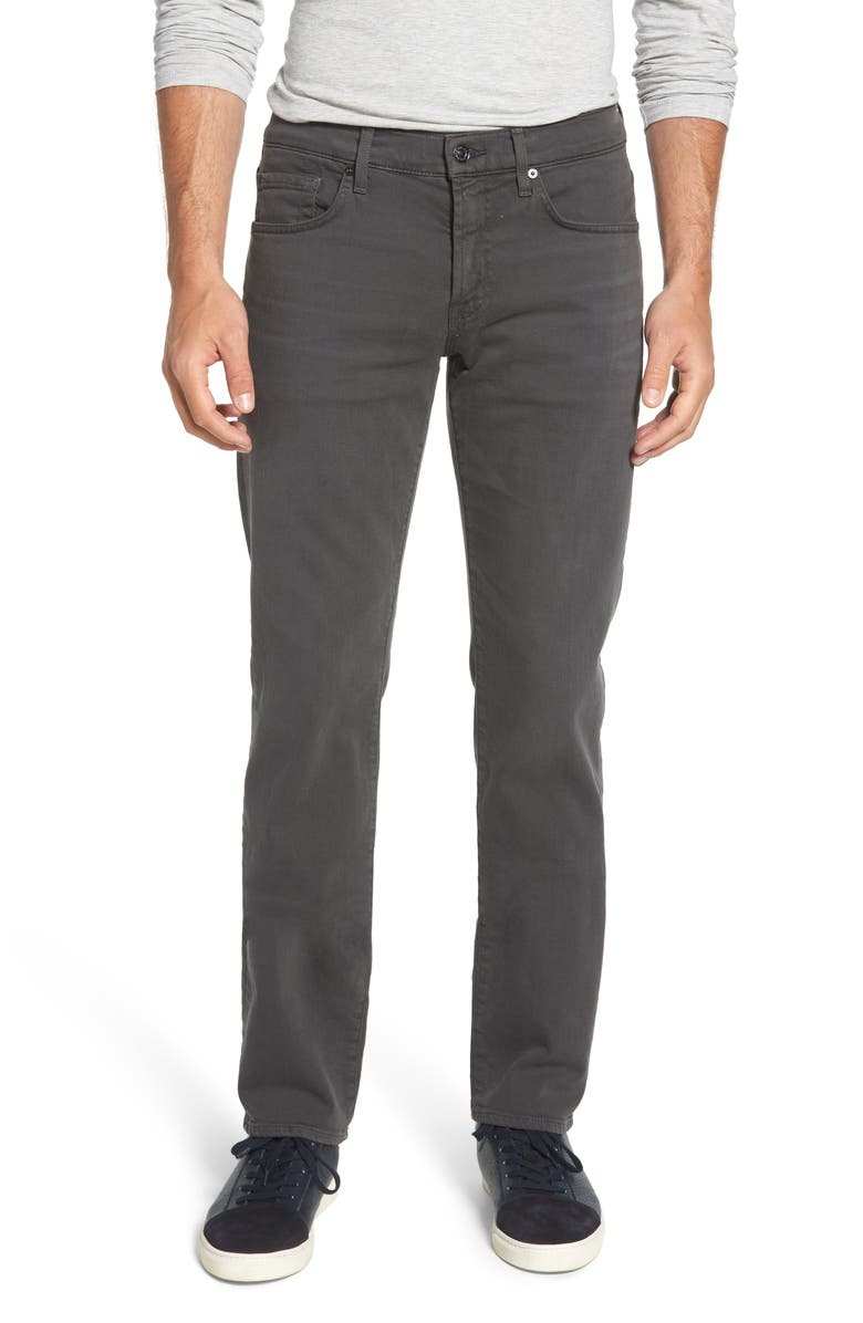 7 FOR ALL MANKIND <sup>®</sup> The Slimmy Slim Fit Jeans, Main, color, LUXE PERFORMANCE CONCRETE