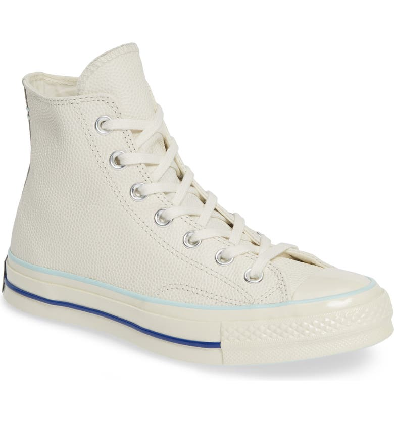 CONVERSE Chuck Taylor<sup>®</sup> All Star<sup>®</sup> 70 High Top Leather Sneaker, Main, color, 020