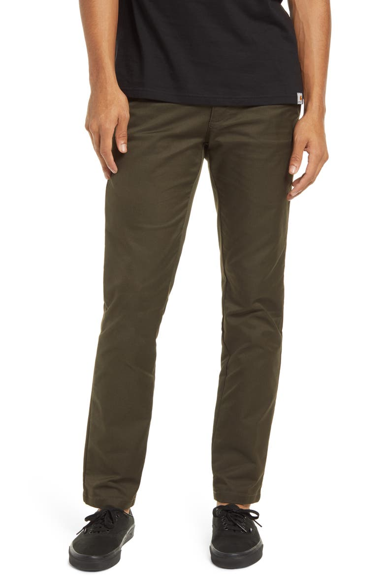CARHARTT WORK IN PROGRESS Sid Chino Pants, Main, color, 301