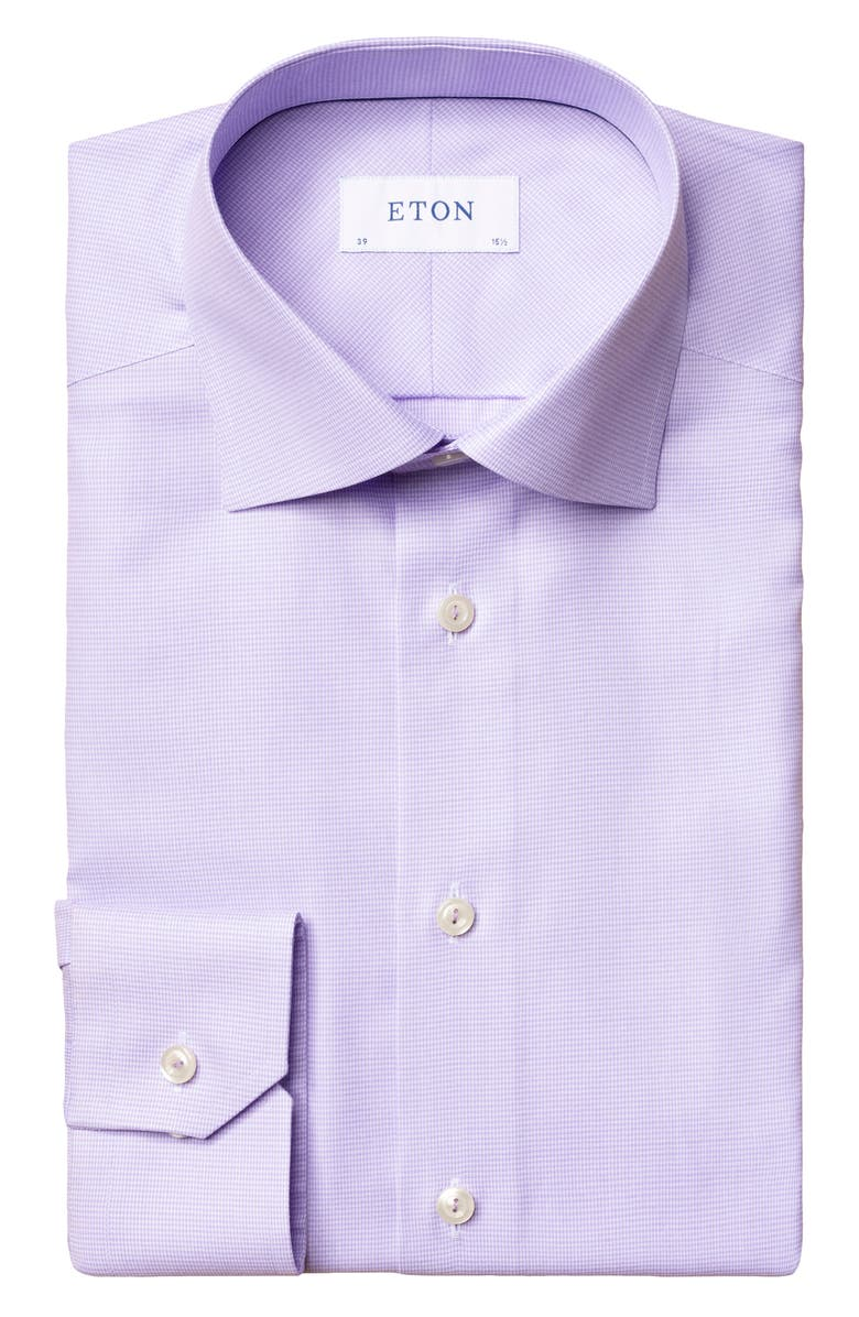 ETON Geo Slim Fit Dress Shirt, Main, color, 500