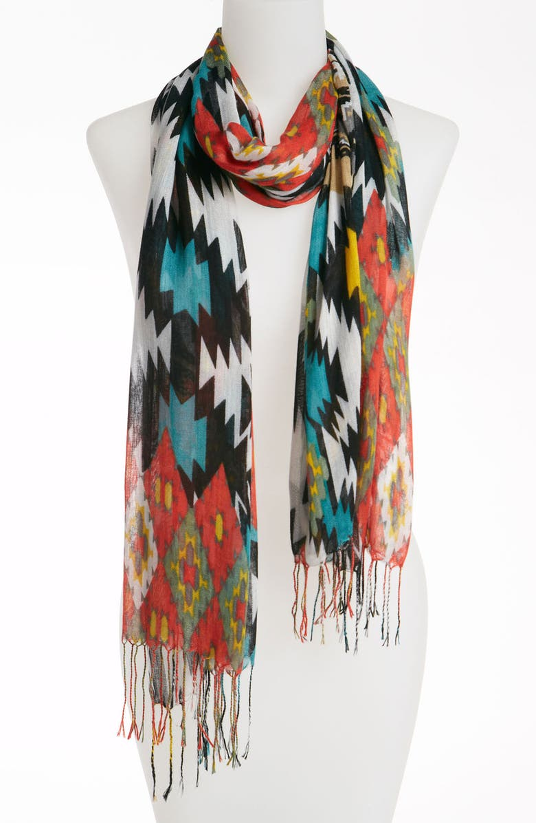 TASHA Natasha Couture 'Southwest' Scarf, Main, color, 600