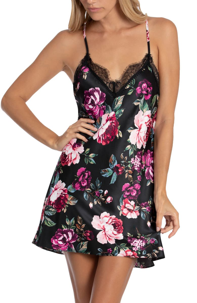 IN BLOOM BY JONQUIL Samantha Chemise, Main, color, 001