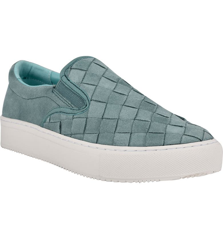 MARC FISHER LTD Calla Slip-On Sneaker, Main, color, CACTUS SUEDE