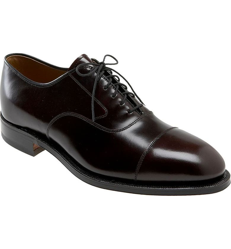 JOHNSTON & MURPHY 'Melton' Oxford, Main, color, Bordeaux