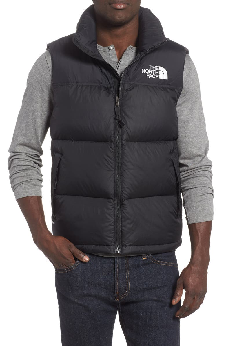 THE NORTH FACE Nuptse 1996 Packable Quilted Down Vest, Main, color, 001