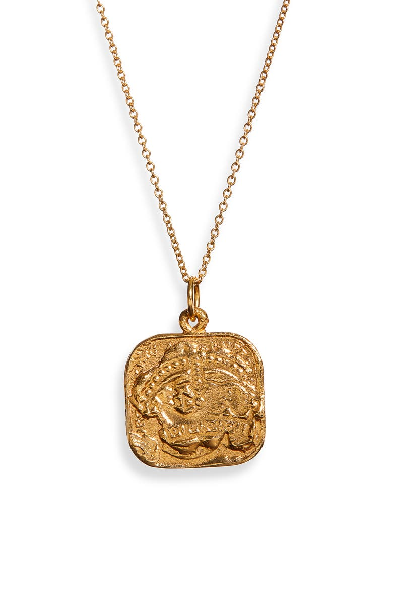 ALIGHIERI The Infernal Storm Necklace, Main, color, GOLD