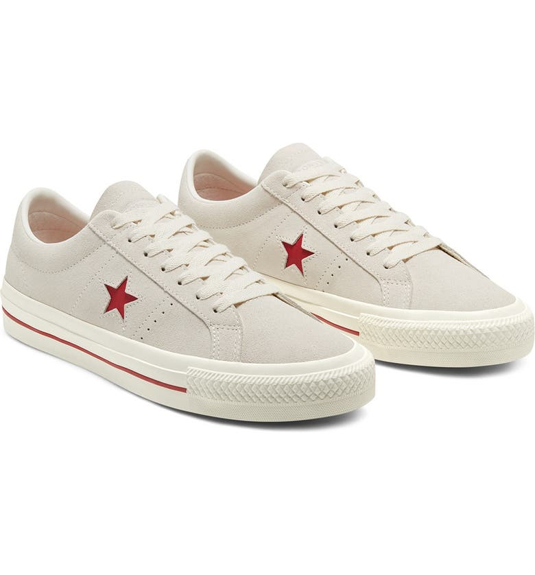 CONVERSE One Star Pro Oxford Sneaker, Main, color, CLARET RED/EGRET