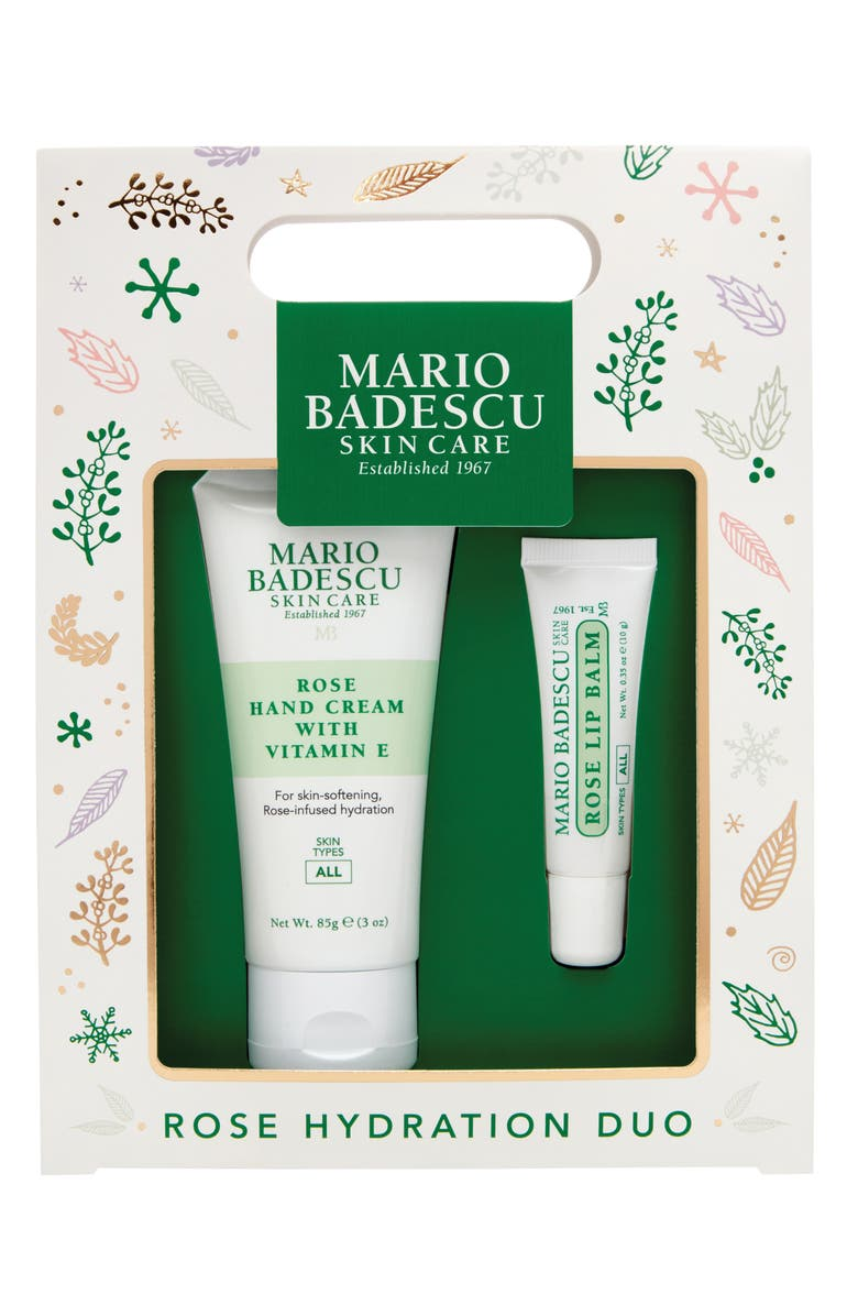 MARIO BADESCU Full Size Rose Hydration Duo, Main, color, 000