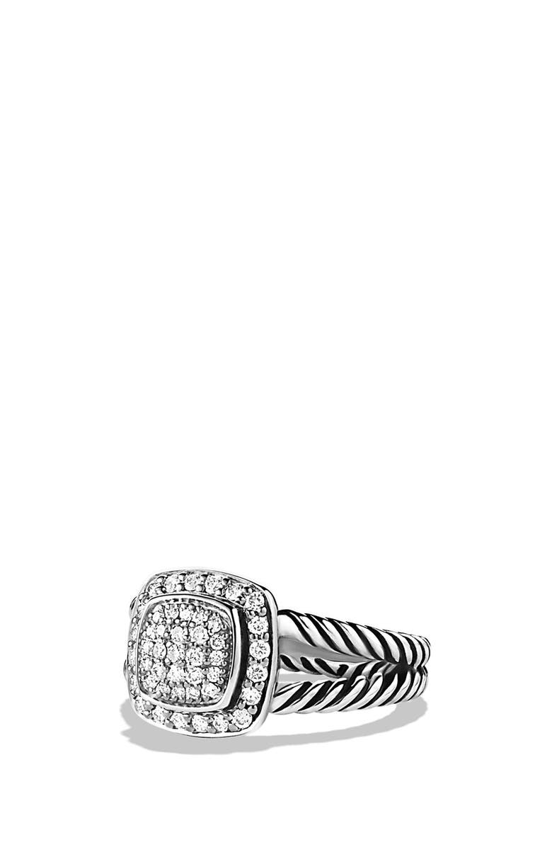 DAVID YURMAN Albion Petite Ring with Diamonds, Main, color, 040