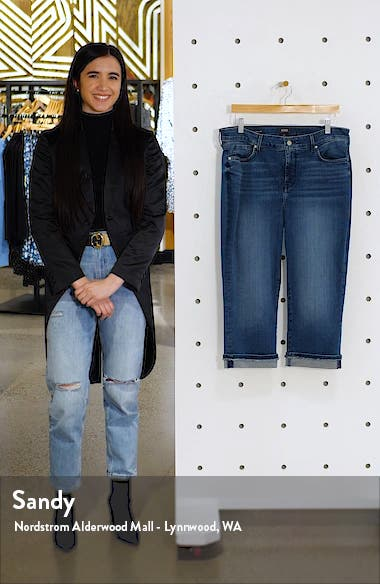 Marilyn Cool Embrace Straight Crop Jeans, sales video thumbnail