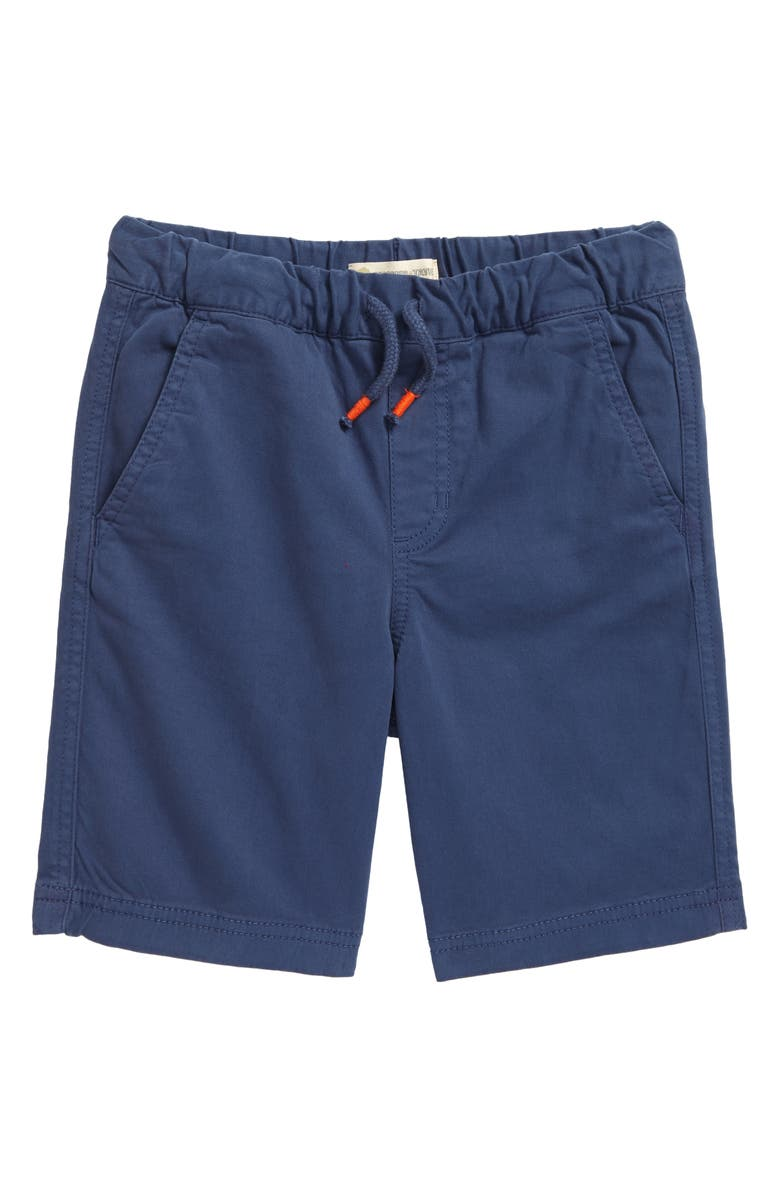 TUCKER + TATE Kids' Essential Twill Shorts, Main, color, BLUE OASIS