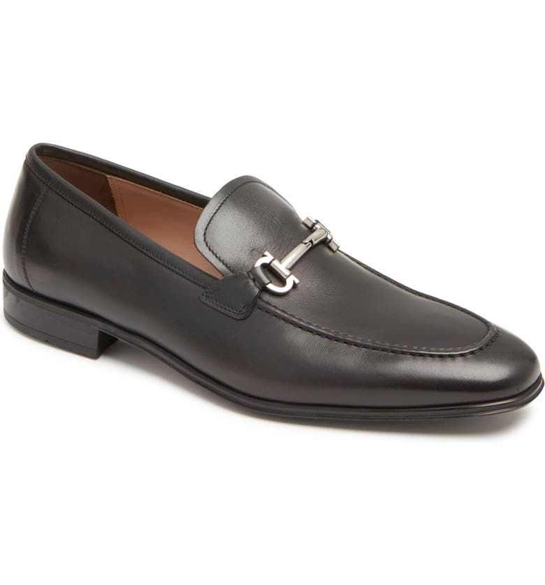 SALVATORE FERRAGAMO Ramses Bit Loafer, Main, color, 001
