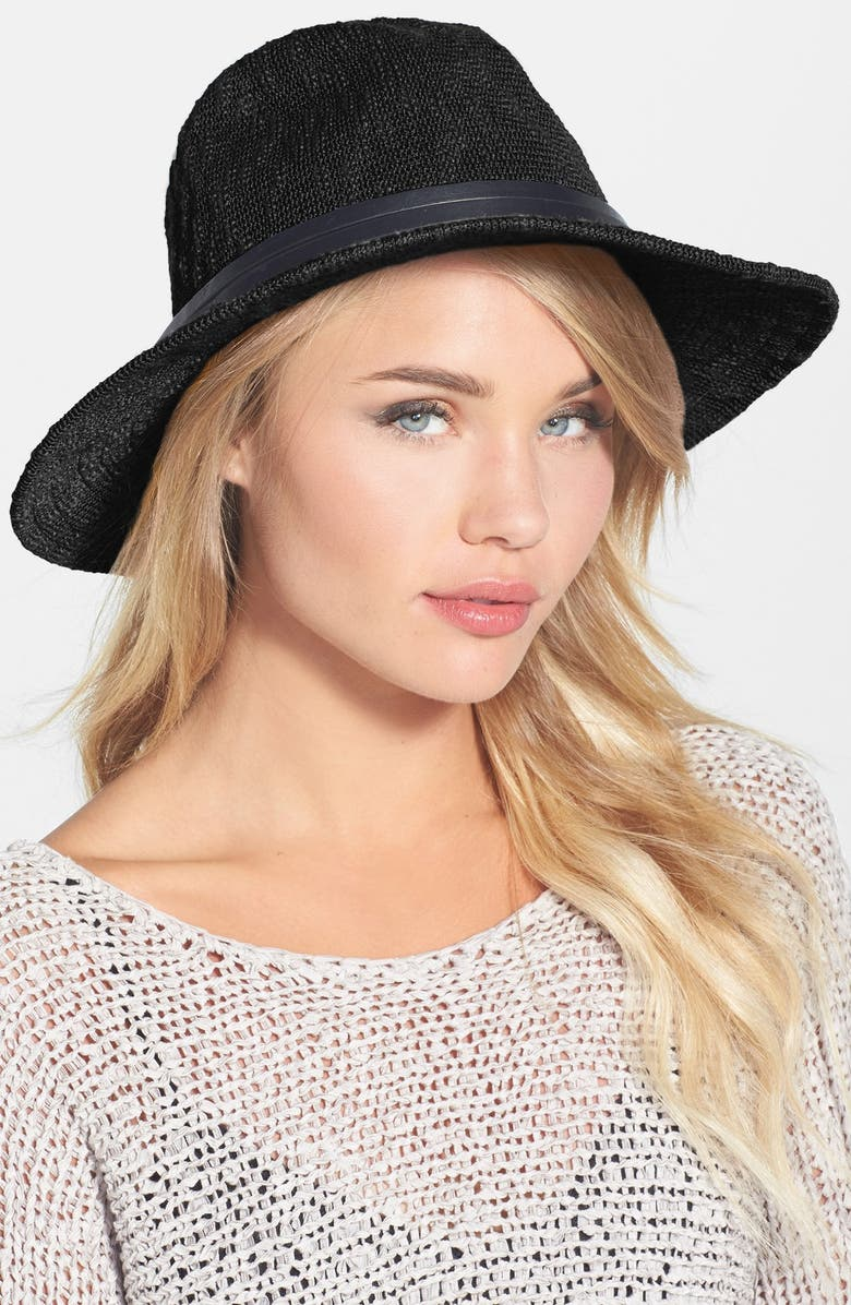 PHASE 3 Knit Wide Brim Hat, Main, color, 001