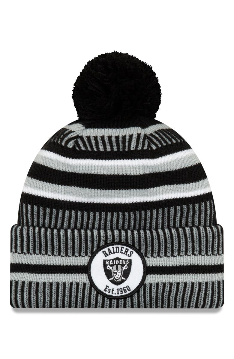 NEW ERA CAP NFL Beanie, Main, color, 002