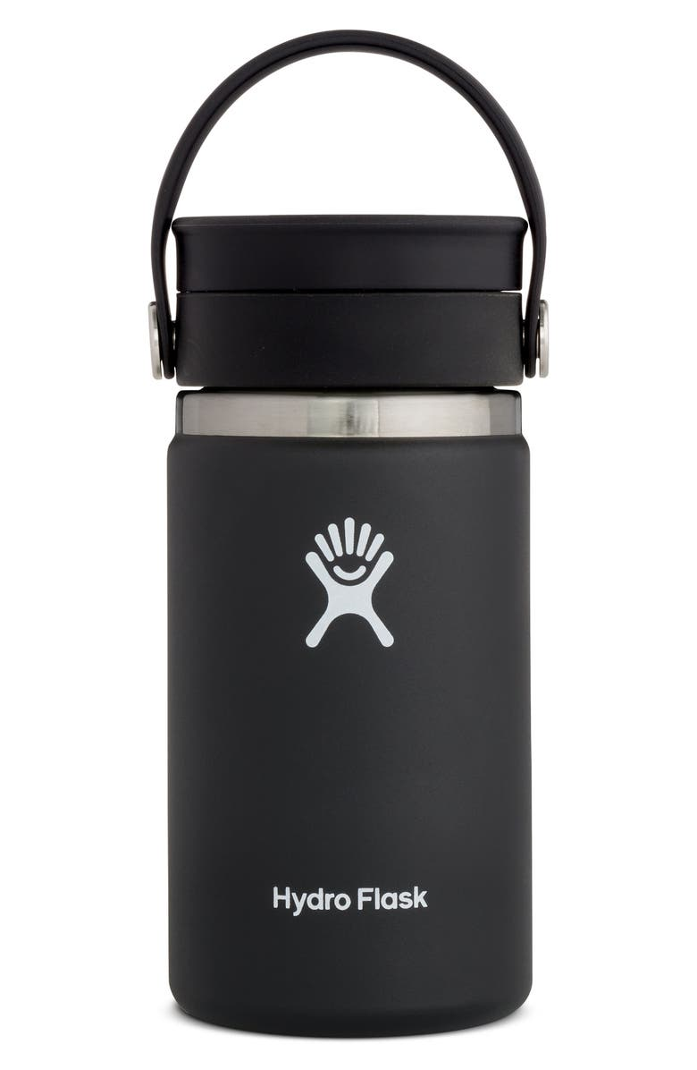 HYDRO FLASK 12-Ounce Coffee Flask with Flex Sip<sup>™</sup> Lid, Main, color, Black