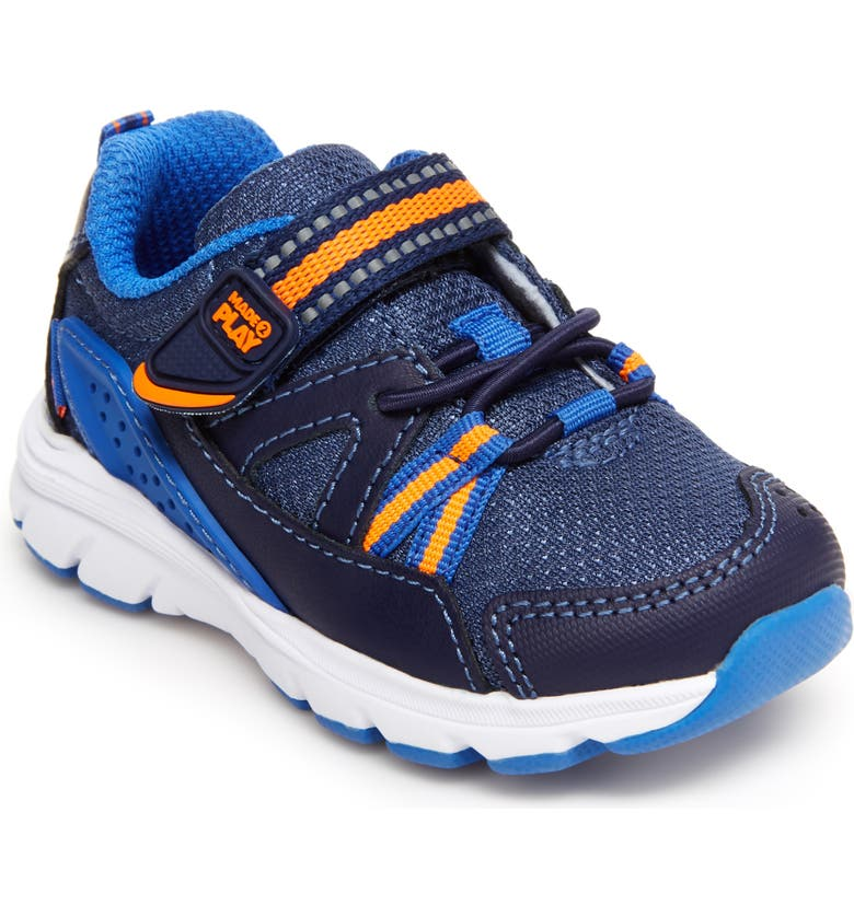 STRIDE RITE Made2Play<sup>®</sup> Journey Sneaker, Main, color, NAVY