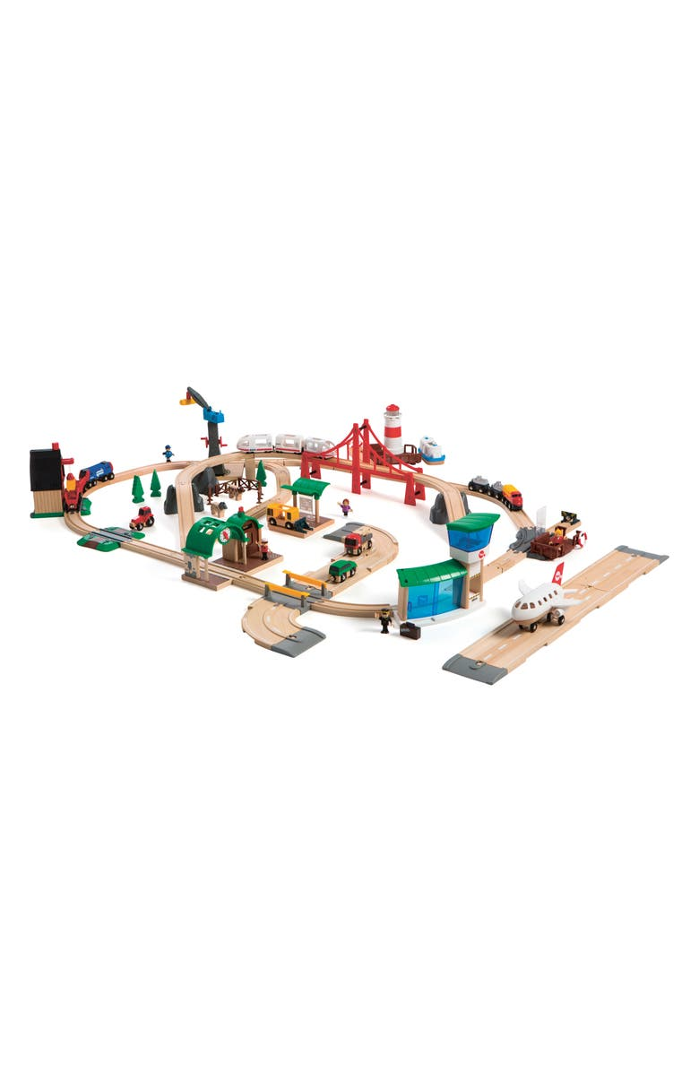 BRIO Railway World Deluxe Set, Main, color, 960