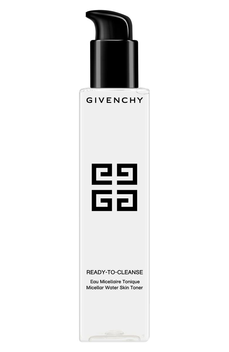 GIVENCHY Ready-to-Cleanse Micellar Water Skin Toner, Main, color, NO COLOR