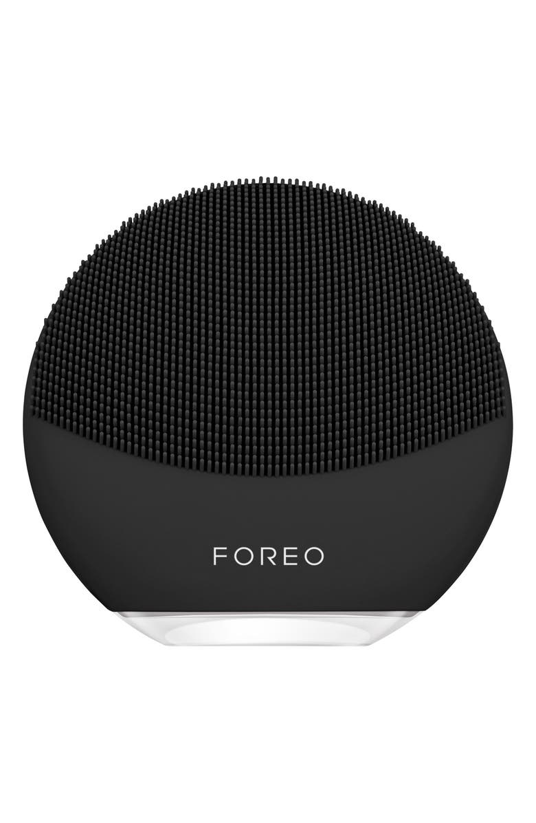 FOREO LUNA<sup>™</sup> mini 3 Compact Facial Cleansing Device, Main, color, MIDNIGHT