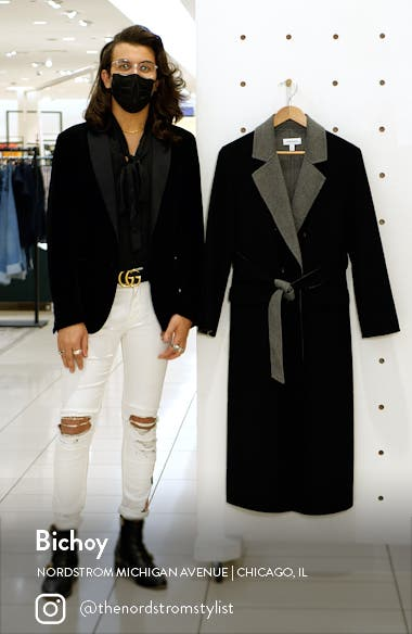 Belted Double Breasted Coat, sales video thumbnail