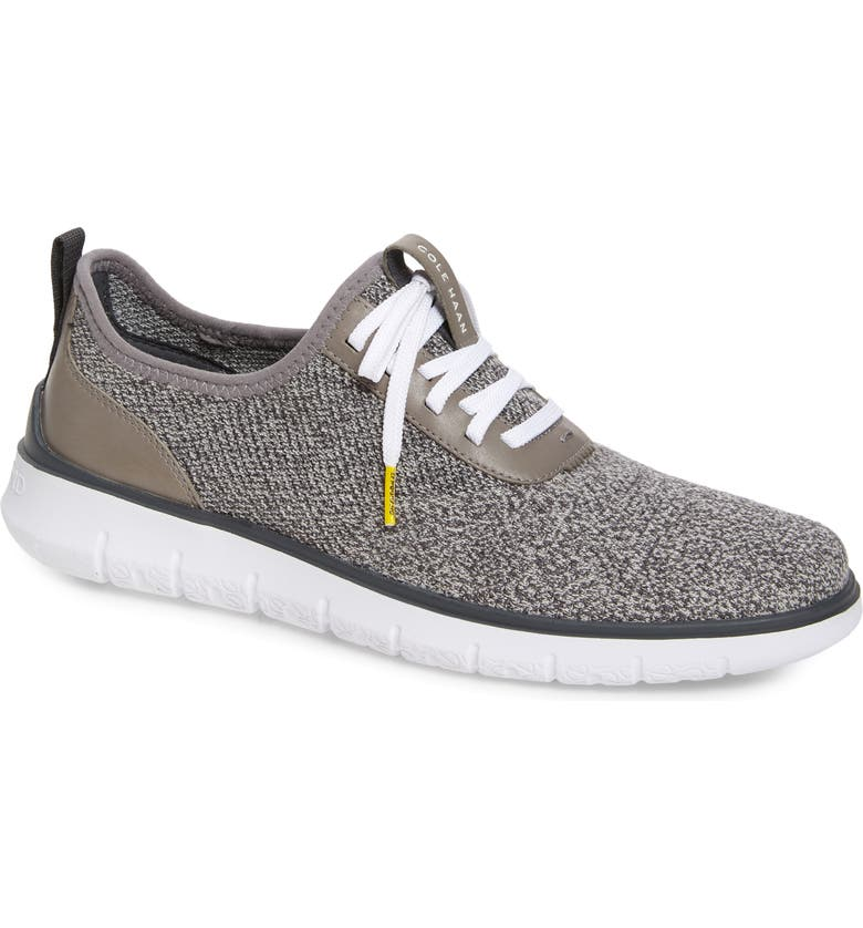 COLE HAAN Generation ZeroGrand Stitchlite Sneaker, Main, color, GLACIER GRAY/ YELLOW
