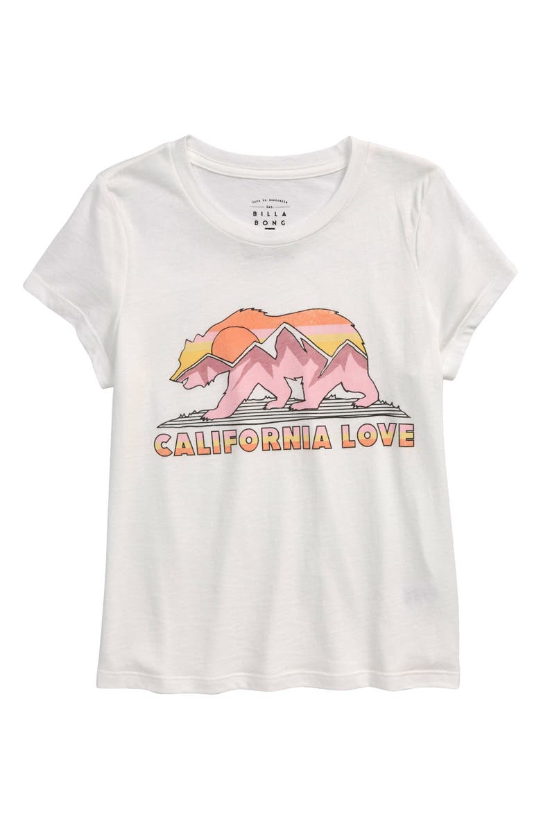 BILLABONG Kids' Cali Road Trip Graphic Tee, Main, color, 106