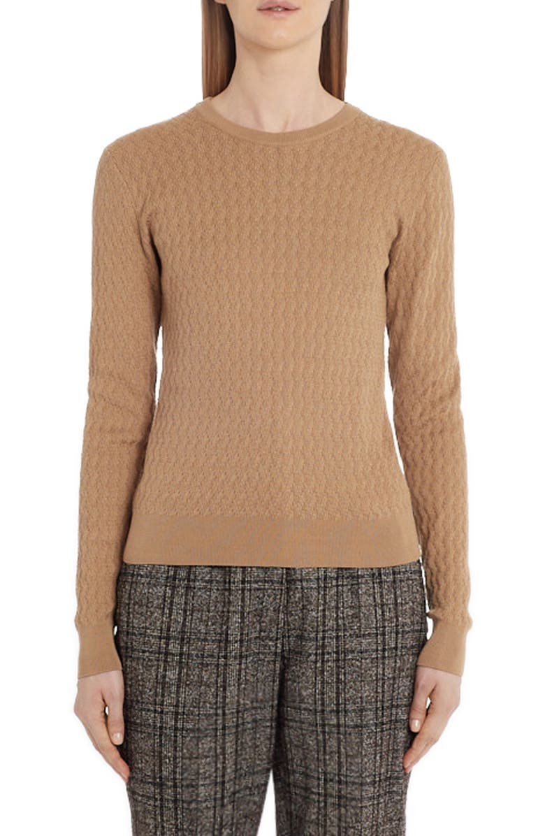 DOLCE&GABBANA Silk Sweater, Main, color, 250