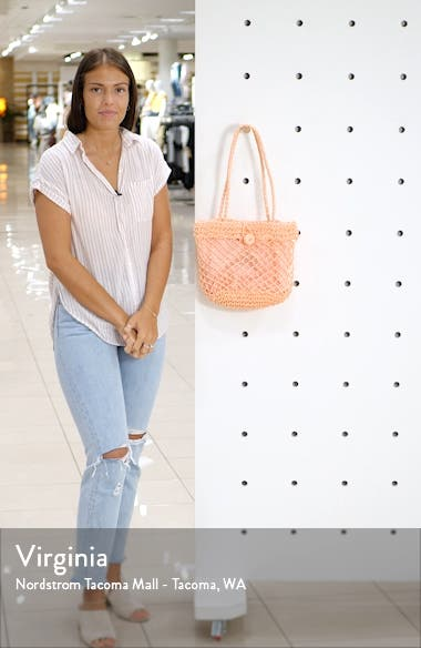 Fizzle Straw Tote, sales video thumbnail